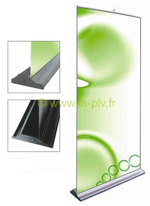 Enrouleurs PLV -roll-up ou rollup