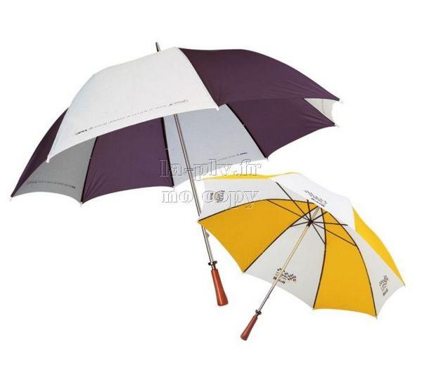 Parapluie publicitaire pour mettre une marque en avant