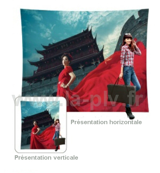 X-frame05 - panneau publicitaire