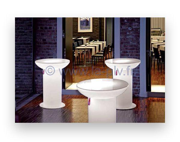 articles lumineux - table lounge pour extérieur et intérieur