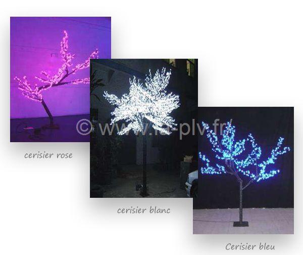 articles lumineux - arbres déco lumineux