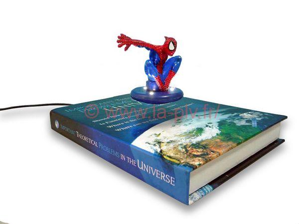 présentoir magnétique - support forme de livre