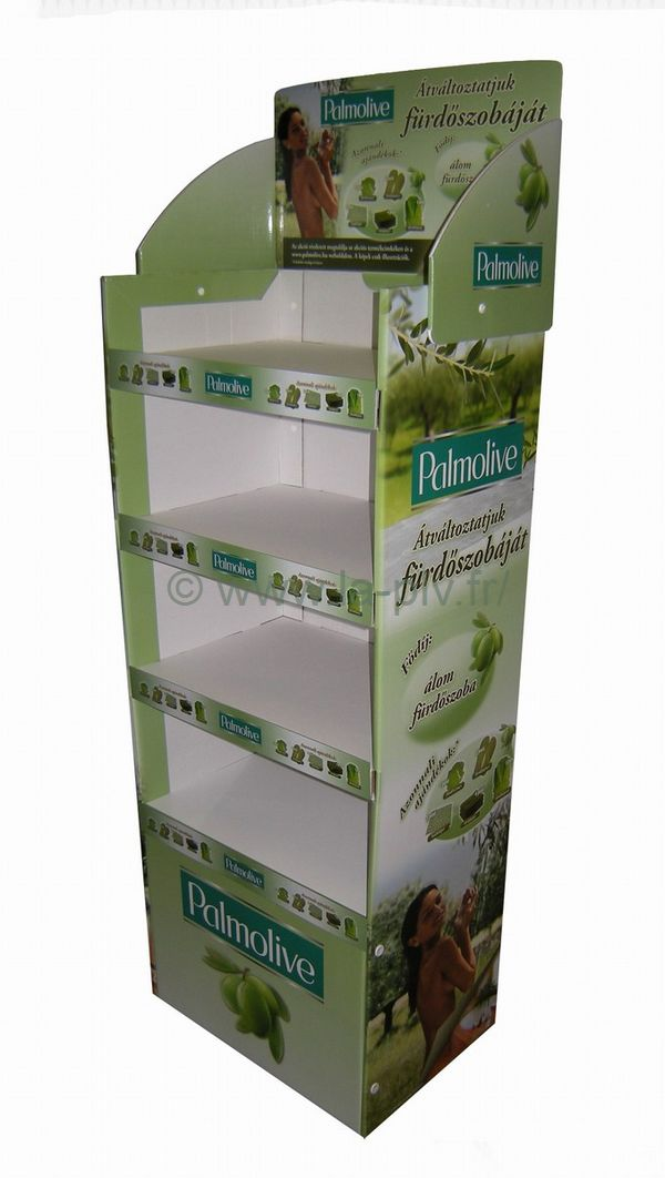 présentoir : carton box publicitaire