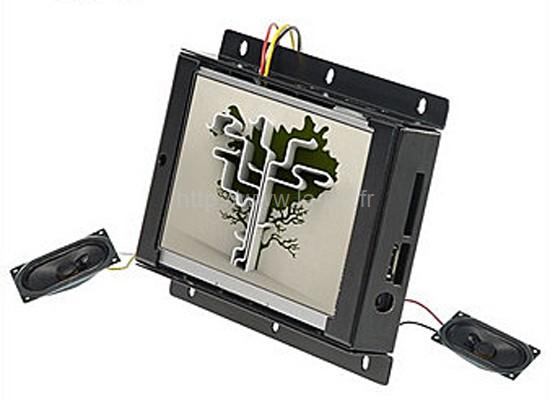 écran numérique - modèle encastrable avec sonorisation
